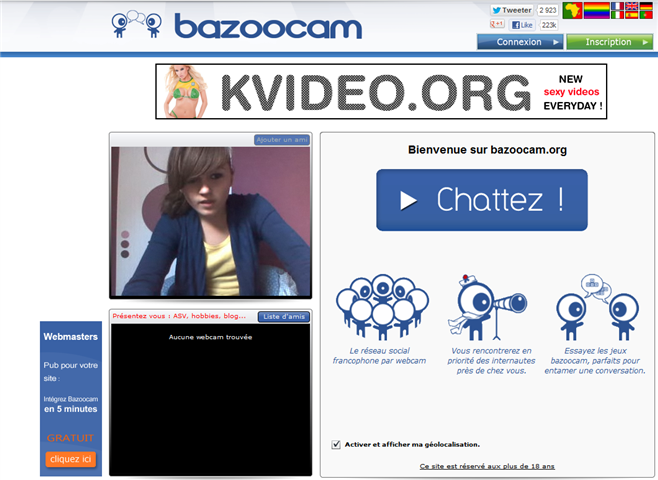 Site de chat ado